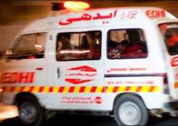 Three killed, 17 others injured in road mishap in Chakwal