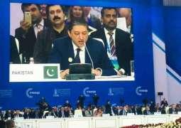 Saleem Mandviwalla highlights Kashmir Issue at the Euroasia conference