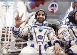 Emirati astronaut records one-hour film documenting life aboard ISS and his activities