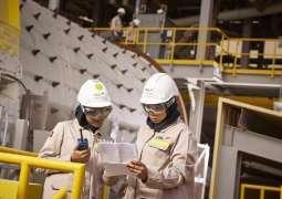 Production ramp-up at EGA's new Al Taweelah alumina refinery on track