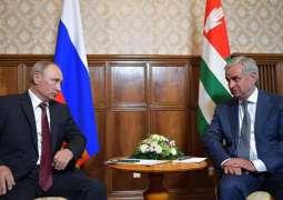 Putin Congratulates Abkhazian President Khajimba on Independence Day - Kremlin
