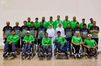 منتخبات المملكة لذوي الإعاقة تشارك في دورة ألعاب غرب آسيا بالأردن