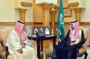 سمو نائب أمير منطقة مكة المكرمة يتسلّم التقرير السنوي لأعمال الشؤون الصحية بجدة