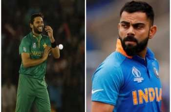 Shahid Afridi praises Indian skipper Virat Kohli, calls him 'great player'