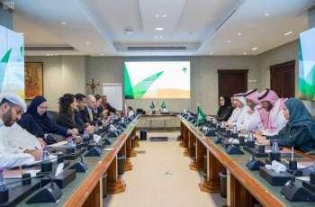 الدكتور أبوثنين يستقبل الممثل الخاص لرئيس الوزراء البريطاني لشؤون منع العنف الجنسي في حالات الصراع