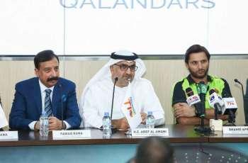 """فريق """"كالاندارز"""" العالمي يشارك في دوري"""" أبوظبي تي 10"""" للكريكت"""