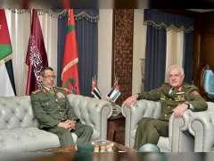 UAE, Jordan discuss military, defence cooperation