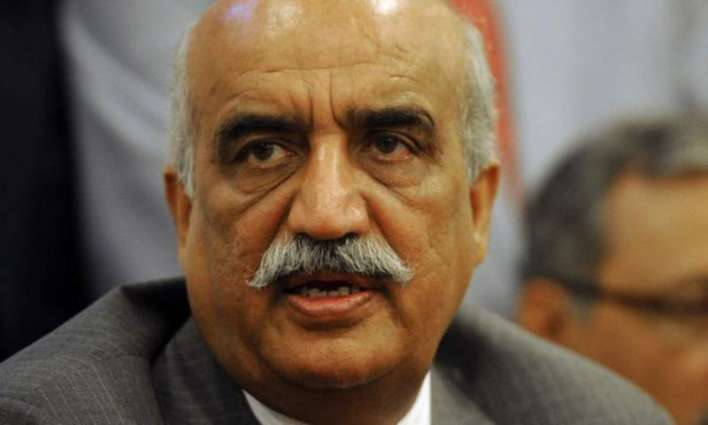 Pakistan will continue to play its key role in freedom struggle of Kashmir : Khurshid Shah