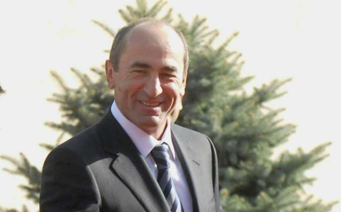 Armenian Court Upholds Arrest of Ex-President Kocharyan
