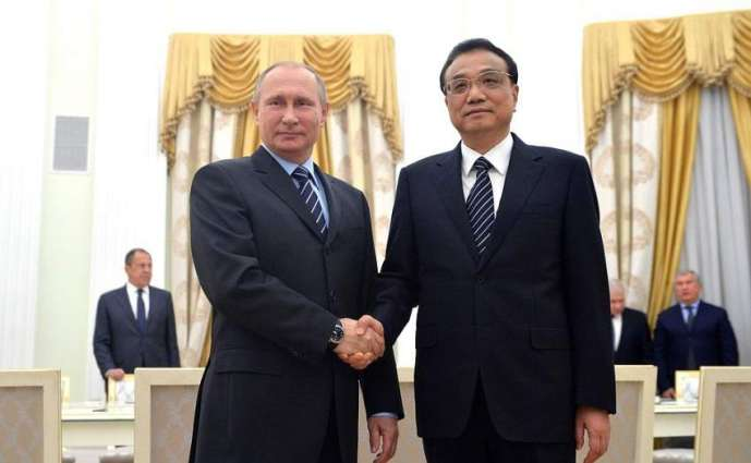 Russian President Vladimir Putin and Premier of the Chinese State Council Li Keqiang will hold a meeting in Mosco