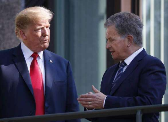 Trump to Host Finland's President Niinisto on October 2 for Security Talks - White House
