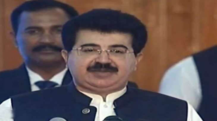 Pakistan will always stand by Kashmiri brethren for protection of their rights, says Sanjrani