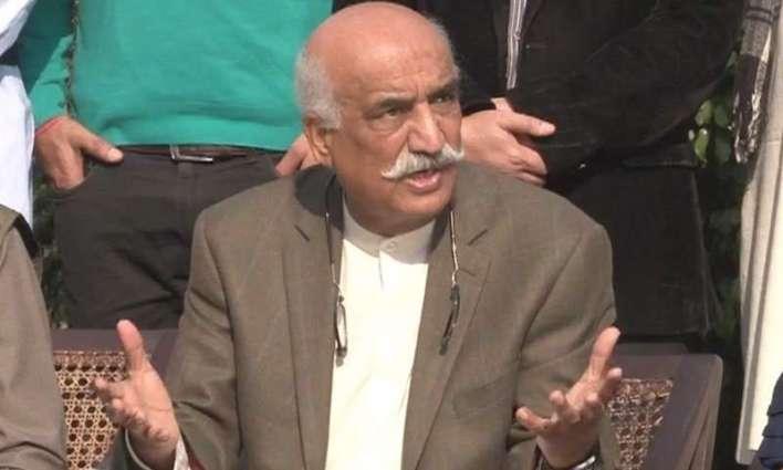 NAB arrested PTI top leader Khursheed Shah