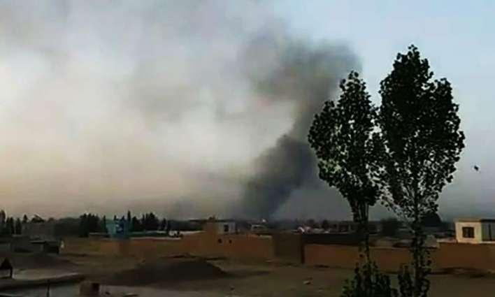 مقتل 30 مدنیا و اصابة 40 آخرین اثر غاریة جویة علي منطقة ننکرھار في أفغانستان