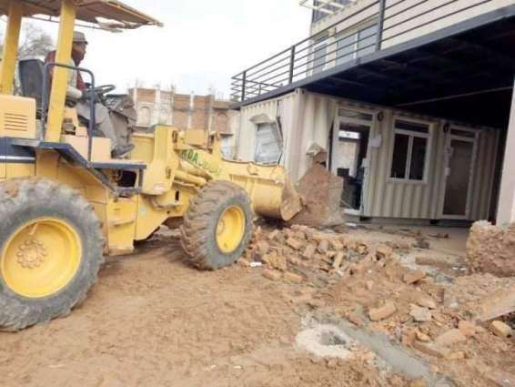 Offices of four illegal housing societies sealed