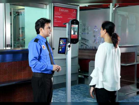 Emirates first in biometric boarding application