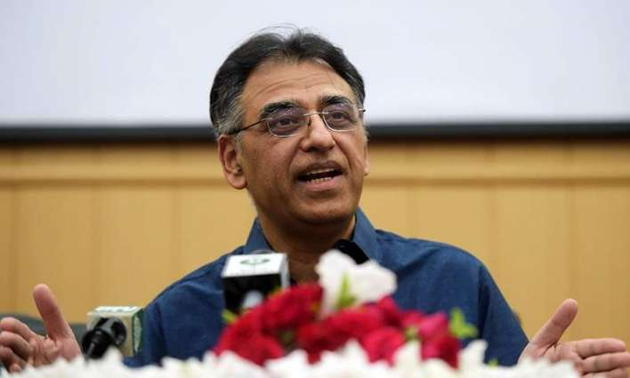 Asad Umar makes complaint before IG Islamabad over police performance