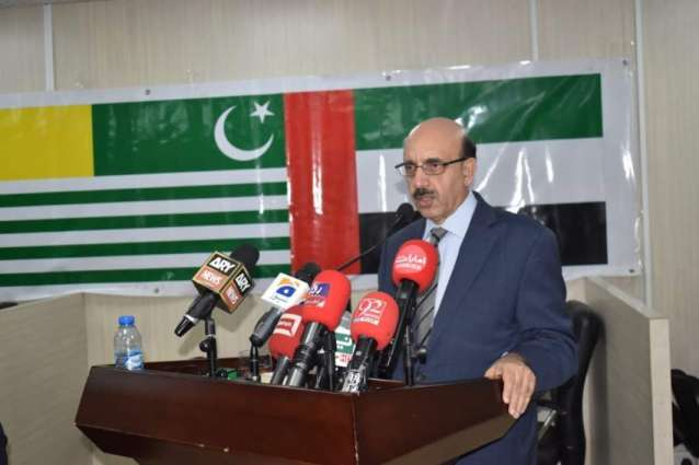 Indian Threats of using nukes against Pakistan madness: AJK President