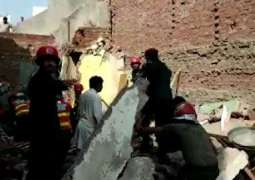 Two killed after roof of house collapses in Lahore