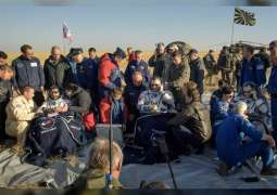 Hazza Al Mansoori returns to Earth after successful mission aboard ISS