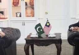 Chief Of The Naval Staff Admiral Zafar Mahmood Abbasi Meets Chief Of Royal Malaysian Navyand Malaysia's Defence Minister