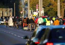 Environmental Activists Block Traffic on Large Squares in Central Berlin - Police