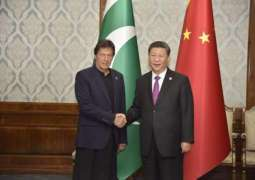 PM Khan calls on President Xi , discusses regional security