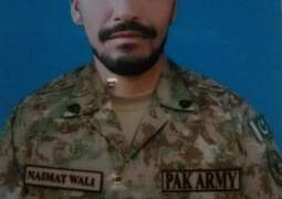 Pak army's soldier martyred in Indian army's violations of ceasefire across LoC: ISPR
