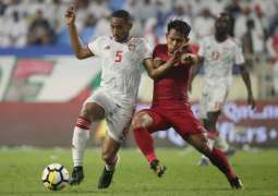 UAE thrash Indonesia 5-0 in Asian qualifiers for 2022 FIFA World Cup
