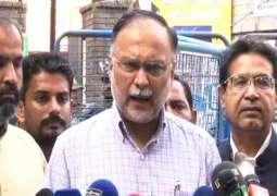 New case lodged against Nawaz Sharif for political revenge: Ahsan Iqbal