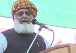 JUI-F Chief rejects PM Khan's committee for talks