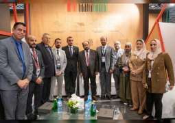 Sharjah Ruler visits Frankfurt Book Fair
