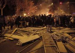 Nearly 100 People Injured in Catalonia Unrest on Wednesday - Medics