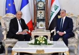 Iraqi Minister Discusses With French Counterpart Bilateral Relations, Situation in Syria