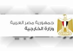 مصر تعرب عن استيائها لاستمرار العدوان التركي على سوريا
