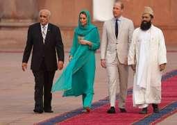 Prince William, Kate Middleton visited the iconic Badshahi Mosque.