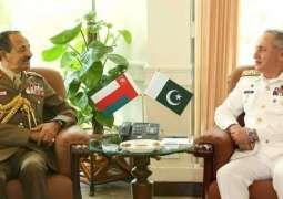 Oman's Chief of Staff calls on CNS
