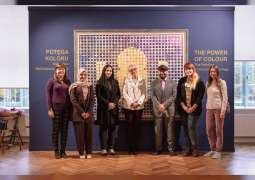 Al Rais' solo exhibition concludes in Poland