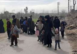 Turkish Red Crescent Believes People 'Temporarily' Fleeing Northern Syria Amid Offensive