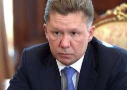 Medvedev Tasks Gazprom CEO With Providing New Info on Gas Transit Talks With Ukraine