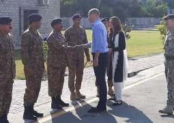Royal Couple visits Pak Army Canine Centre in Islamabad