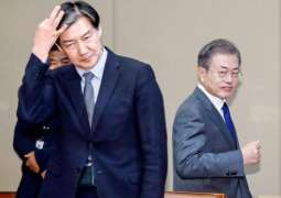Moon's Approval Rating Falls Below 40 Percent Amid Scandal With Justice Minister - Reports