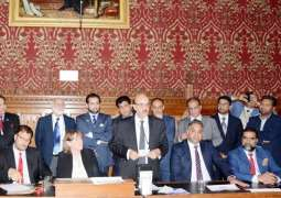 Masood appeals to UK to help lift siege, end carnage, reject India's occupation of Kashmir