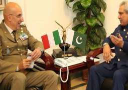 Italian Secretary General Defence calls on Vice Chief of Air Staff