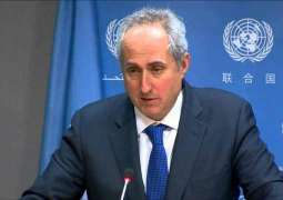 UN Asks All Sides in Syria to Stop Fighting, Focus on Political Track - Spokesman