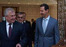 Syria's Assad, Russian Delegation Discuss Constitutional Committee, Turkish Offensive