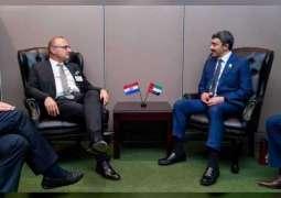 UAE Minister meets Jersey External Relations Minister