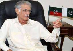 Pervez Khattak says PM's resignation is not an option