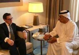 Obaid Al Tayer, External Relations Minister of Jersey discuss opportunities of future cooperation