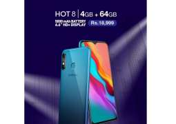The Most anticipatedInfinix Hot 8 4+64GB Variant launched in Pakistan
